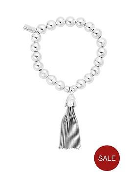 chlobo-sterling-silver-medium-ball-tassel-bracelet