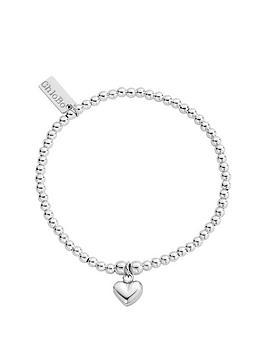 chlobo-sterling-silver-cute-puffed-heart-charm-bracelet