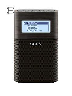 sony-xdr-v1btd-portable-dabdab-clock-radio-with-bluetooth-black