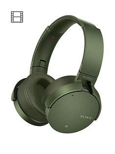 sony-mdr-xb950n1nbspnoise-cancelling-extrabassnbspwireless-headphones-green