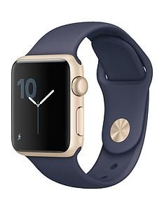 apple-watch-series-1-38mm-gold-aluminium-case-with-midnight-blue-sport-band