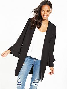 v-by-very-frill-sleeve-duster