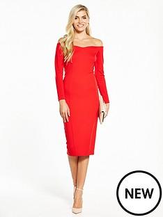 v-by-very-bardot-ponte-bodycon-dress