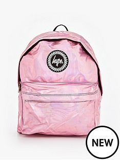 hype-holographic-backpack-pink