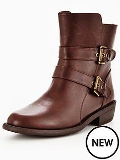 v-by-very-junior-strappy-buckle-boot-brown