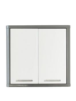 lloyd-pascal-luna-high-gloss-2-door-mirrored-bathroom-cabinet-greynbsp