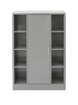 lloyd-pascal-luna-high-gloss-bathroom-console-unit-greynbsp