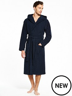 hugo-boss-logo-hooded-gown