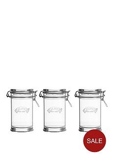 kilner-kilner-signature-75l-set-of-3-clip-top-jar