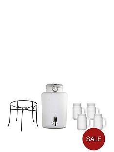 kilner-frosted-drinks-set