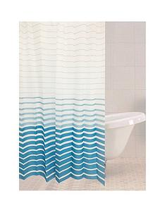 sabichi-azul-stripe-shower-curtain