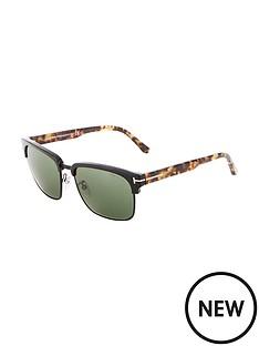 tom-ford-river-matte-black-clubmaster-sunglasses