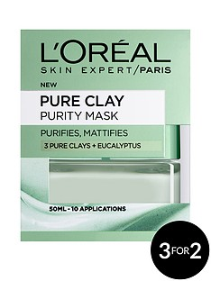 loreal-paris-pure-clay-purity-mask-50ml