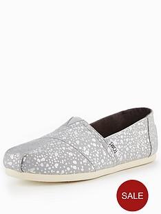 toms-foil-snow-spots-espadrille-silver
