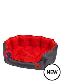 petface-oxford-oval-bed
