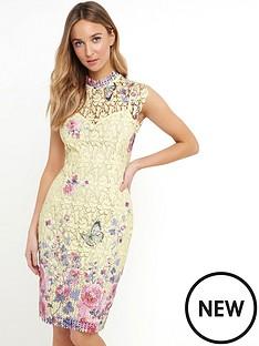 paper-dolls-paper-dolls-lemon-multi-print-lace-dress