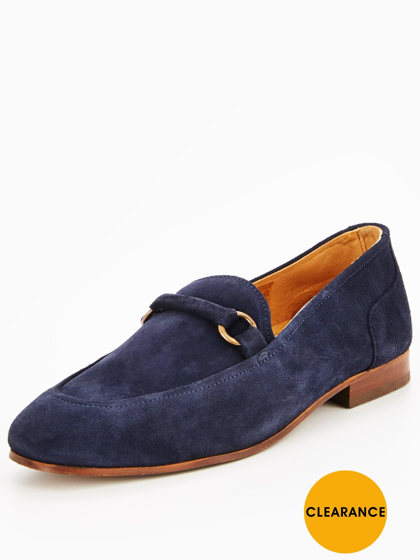 Hudson London HUDSON RENZO SUEDE LOAFER 1600173815 Men's Shoes Hudson London Shoes