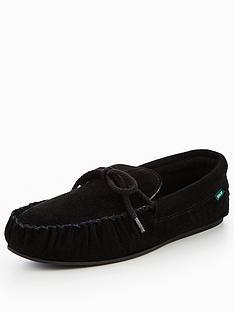 dunlop-moccasin-lace-slipper-black
