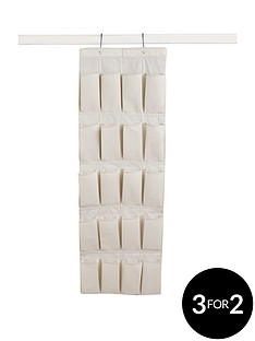 20-pocket-over-door-shoe-organiser