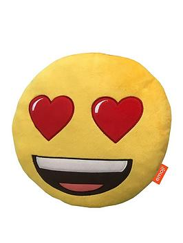 emoji-round-heart-eyes-embroidered-plush-cushion