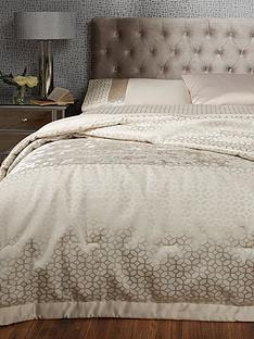 ideal-home-vienna-velvet-panel-geo-bedspread-thrownbsp