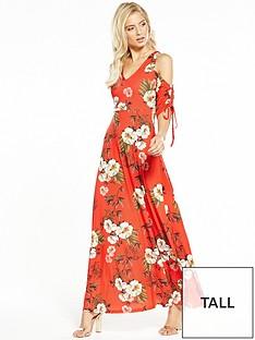 v-by-very-tall-drawcord-sleeve-maxi-dress