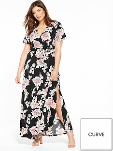 v-by-very-curve-floral-jersey-wrap-maxi-dress