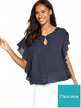max-edition-frill-sleeve-blouse