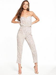 miss-selfridge-floral-bandeau-buckle-jumpsuit
