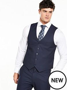 v-by-very-mens-slim-fit-check-waistcoat