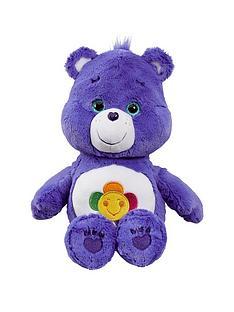 care-bears-medium-plush-with-dvd-harmony-bear