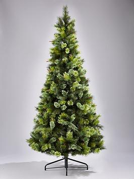 view larger - 7ft Slim Christmas Tree