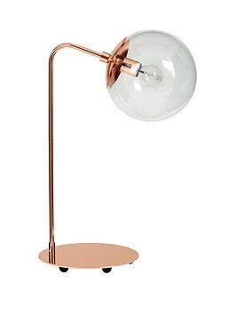 ideal-home-carter-copper-orb-table-lamp