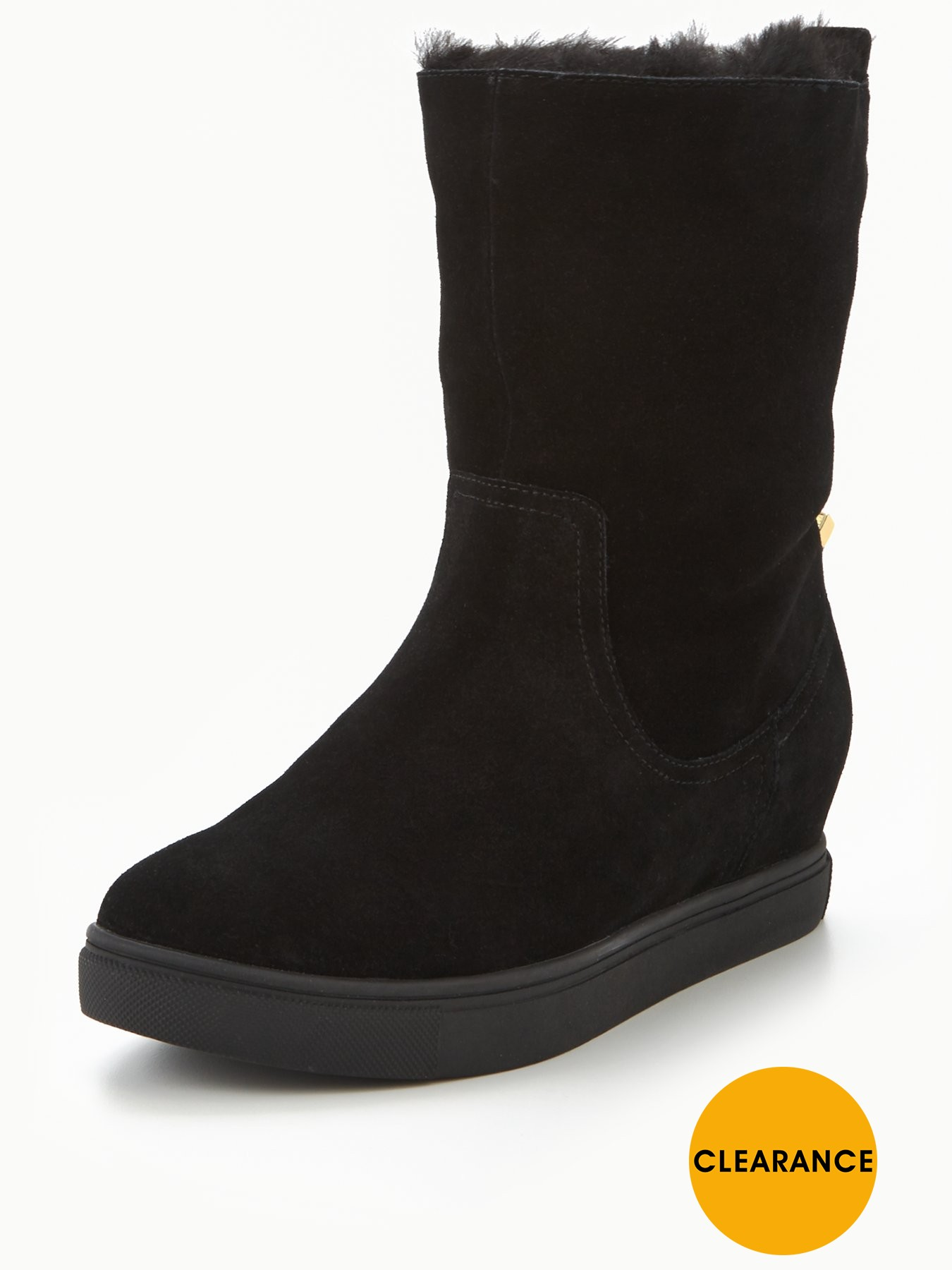 KG Scorpio Faux Fur Cuff Ankle Boot 1600179951 Women's Shoes KG Boots