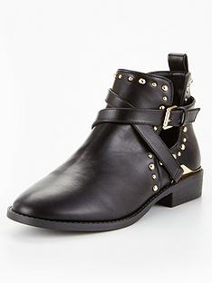 1600179956: Miss KG Seb Studded Ankle Boot