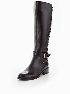 carvela-polished-quilted-rider-boot