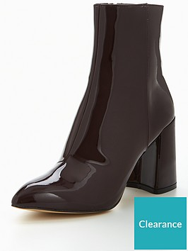 kg-kg-dollar-point-toe-flared-heel-ankle-boot