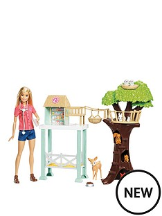 barbie-animal-rescue-centre-playset