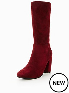 v-by-very-swish-slim-leg-calf-boot-merlot