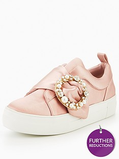 v-by-very-yasmin-embellished-trainer-pink