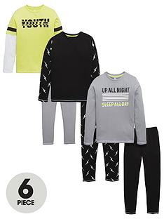 v-by-very-6pc-lightening-bolt-pj-set