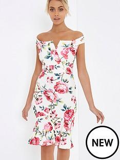 girls-on-film-bardot-floral-midi-dress