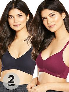 v-by-very-2-pack-smooth-cross-back-lounge-bralette