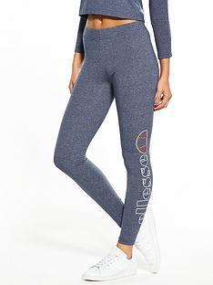 ellesse-heritage-ilenia-marl-leggings-navynbsp