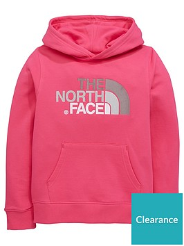 the-north-face-youth-drew-peak-pullover-hoodienbsp--pinknbsp