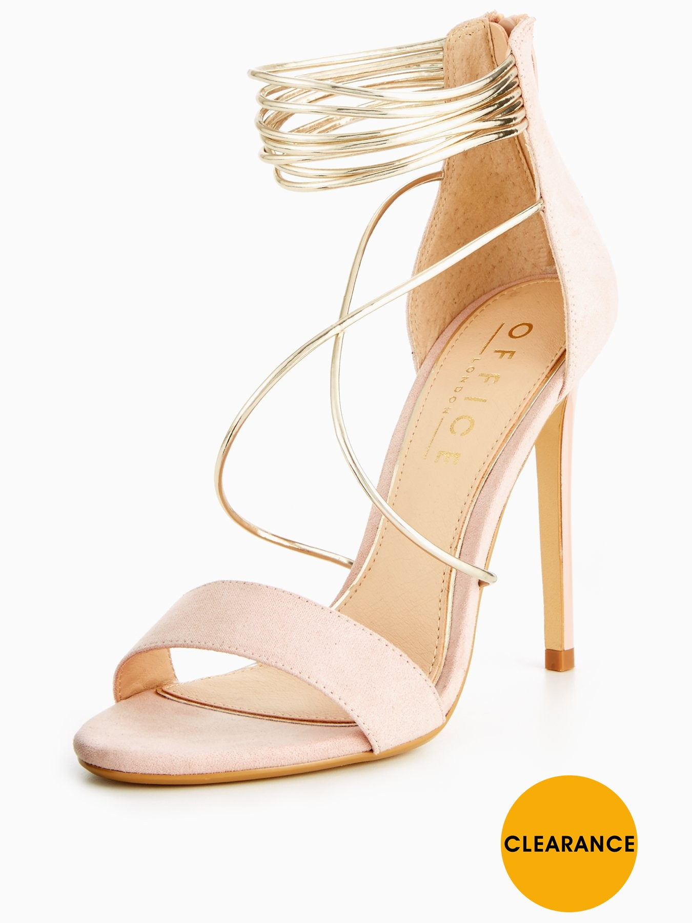 OFFICE Hollywood Heeled Sandal 1600178065 Women's Shoes OFFICE Heels