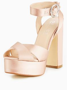 office-harley-satin-platform-sandal