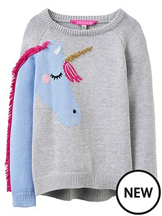 joules-girls-geegee-unicorn-knitted-jumper