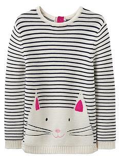 joules-girls-winnie-cat-jumper