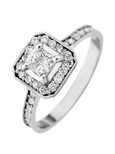 love-diamond-9ct-white-gold-60-point-diamond-princess-cut-centre-halo-engagement-ring